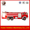 De Vrachtwagen van de Brandbestrijding van het Water HOWO 12000L en van het Schuim 3000L