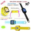 子供の誕生日プレゼント(D18)のための3G WiFiのタッチ画面GPSの追跡者の腕時計