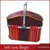 Pique-nique extérieur Bag/Basket de la poignée en aluminium Camping/Travel