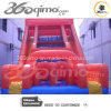 Inflatable rosso Slide con Obstacle Game (BMHC196)