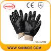 Черный ПВХ Ближний промышленной безопасности рабочих перчаток ( 51203 )null