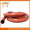 Ligne tuyau renforcé de fibre de Polyseter de l'eau de PVC
