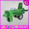 Heet Nieuw Product voor 2015 Jonge geitjes die het Vliegtuig van het Stuk speelgoed, het Grappige Vliegtuig van het Stuk speelgoed van het Stuk speelgoed van Kinderen Houten, Vliegtuig W04A089 van het Stuk speelgoed van de Hoogste Kwaliteit vliegen het Goedkope Miniatuur
