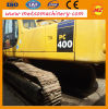 KOMATSU utilizó el excavador hidráulico de la correa eslabonada (PC400-7)