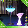 LED Illuminated Bar Cocktail Table /Modern LED Bar Table met Afstandsbediening