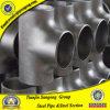 Norme ANSI B16.9 304 acier inoxydable de 316 4in réduisant le té