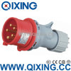 세륨 Certification (QX-4)를 가진 IP67 Industrial Portable Plug