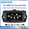 GPS van de auto DVD voor Suzuki Alivio/Keietsu/Ciaz met RadioAudio