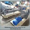 Pompe verticale centrifuge de boue de carter de vidange rayée par métal