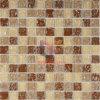 Mosaico Hielo-Agrietado del cristal amarillento (CC163)