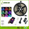 la CC 12V impermeabilizza l'indicatore luminoso di striscia astuto di 5050 SMD IL RGB WiFi LED