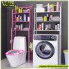 mensola a 3 strati di immagazzinamento in il Governo del risparmiatore dello spazio della stanza da bagno della cucina