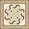 Tegel 1200X1200mm van de Vloer van het Kristal van het Tapijt van het Patroon van de bloem Tegel Opgepoetste Ceramische (BMP09)