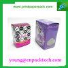 Caja de embalaje modificada para requisitos particulares colorida de la cartulina de la joyería del caramelo