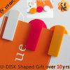 USB pequeno do plástico do presente bonito com cores diferentes (YT-3236-03)
