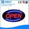 Muestra abierta electrónica oval de Hidly LED