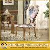 Nam de Gouden het Dineren van Seater van de Stof van het Roestvrij staal Stoel van het Huwelijk van de Stoel toe