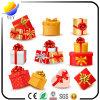 Rectángulo de regalo de empaquetado de lujo de la Navidad (prototipo de empaquetado del rectángulo de los rectángulos de regalo de la decoración de la cartulina de la cinta o de regalo de la cartulina)