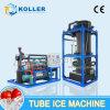 Máquina de hielo caliente del tubo de la venta de Koller 2016 10 toneladas por el día (TV100)