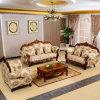 Sofá de la tela con la cabina fijada para los muebles de la sala de estar