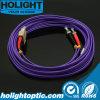 Fibra Patchcord Duplex Sc a St Om4 3.0mm Violeta