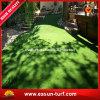 Het modellerende Kunstmatige Plastic Groene Gras van de Tuin