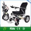 Кресло-коляска силы батареи лития облегченного портативного алюминия перемещения 2017 складывая электрическая в автомобиле, самолете, метро