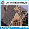 A areia da cor da natureza do Watercraft lasca a telha de telhado revestida do metal da telha a pedra modelo