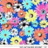 Tela hecha punto flores multi de la impresión 80%Polyamide 20%Elastane para el traje de baño