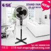 Appareils électriques bon marché avec le ventilateur de base en travers de stand