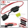 Chicote de fios in-Line do fio da potência 12V do suporte feito sob encomenda do fusível