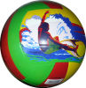 Volleyball en caoutchouc de sports
