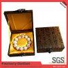 Empaquetado modificado para requisitos particulares de seda de encargo de la joyería de la caja de joyería del OEM