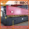 Máquina que pela industrial de la serie de QC12y, cortadora hidráulica