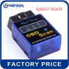 Works on Android Torque Elm327 V2.1 Mini Elm327 Bluetooth V1.5 Obdii/OBD2 Auto Car Diagnostic Scanner Obdii