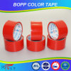 Cinta del embalaje del color BOPP de la alta calidad de Hongsu