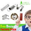 Fabrik-Zubehör-kundenspezifischer Sprung-Stahltasten-Klipp