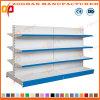 Qualitäts-doppeltes Seiten-Supermarkt-Ladenregal (ZHs631)