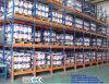 Prateleira viva dinâmica da gravidade resistente para o armazenamento do armazém