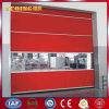 Puerta de alta velocidad de la persiana enrrollable de la tela industrial del PVC (YQRD021)