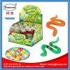 Crescente giocattolo di gomma del serpente con la caramella