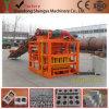 Machine semi-automatique concrète de bloc/de fabrication de brique (QTJ4-26C)
