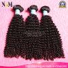 インドの深い波の銘柄の人間の毛髪のよこ糸