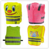 Желтые Hi-Визави Vest Velcro Children Safety с CE