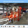 Qt6-15 terminan la cadena de producción bloque hueco automático que hace la maquinaria