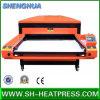 Máquina de transferencia dual de la prensa del calor del formato grande de las estaciones del gemelo del cristal de exposición