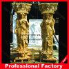 Высеканный штендер мрамора мраморный колонки скульптуры