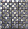 Spezieller Entwurfs-Aluminiummetall-u. Kristallglas-Mosaik-Fliese (FYL110)