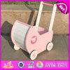 Carro de madeira do brinquedo da tração e do impulso da venda 2015 quente, Tirar De Juguete, brinquedo de madeira do carro da tração dos miúdos, brinquedo de madeira do carro do impulso para o bebê W16e050
