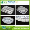 Envase grande del papel de aluminio de la cacerola del hogar con el estante